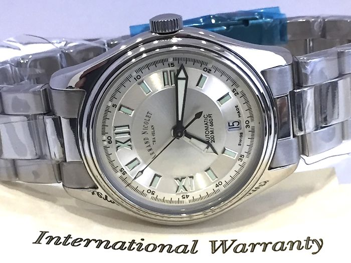 "Armand Nicolet - "" NO RESERVE PRICE "" - ETA 2846 9050A-AG-M9090 AUTOMATIC - Swiss Made - Nuovo - Garanzia - Heren - 2011-heden"