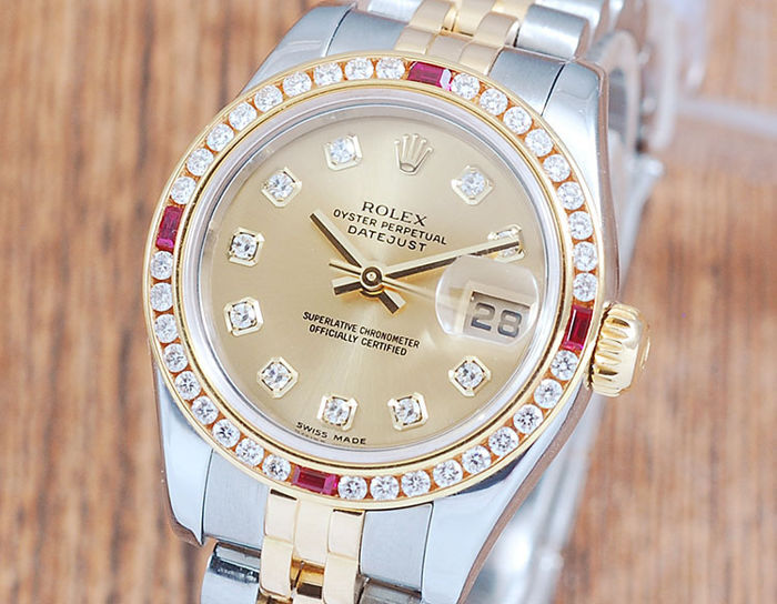 Rolex - Oyster Perpetual DateJust - 179173 - Dames - 2000-2010