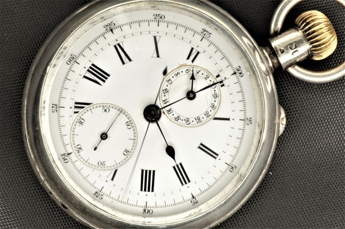 Benson Fly Back Chronograph    - Watch Maker By Warrant To The Queen Victoria - Men - 1884