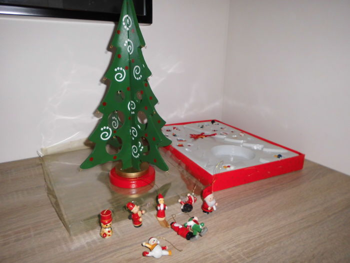 Christmas decoration - Complete collection - Wood