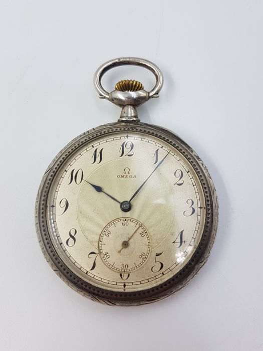 Omega - Art nouveau - Pocket watch - Men - 1901-1949