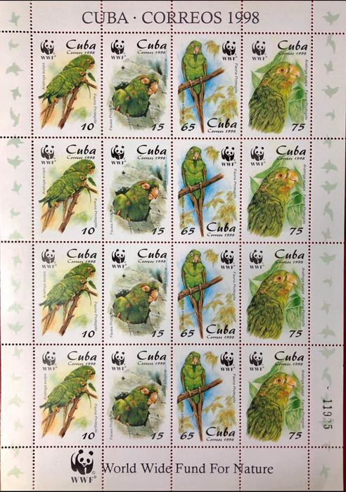 Cuba, British Commonwealth  - Topical sets: Bird, Animal, Fauna, Chess