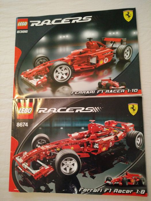 Lego Technic 8386 8674 Car Ferrari F1 Racer Catawiki