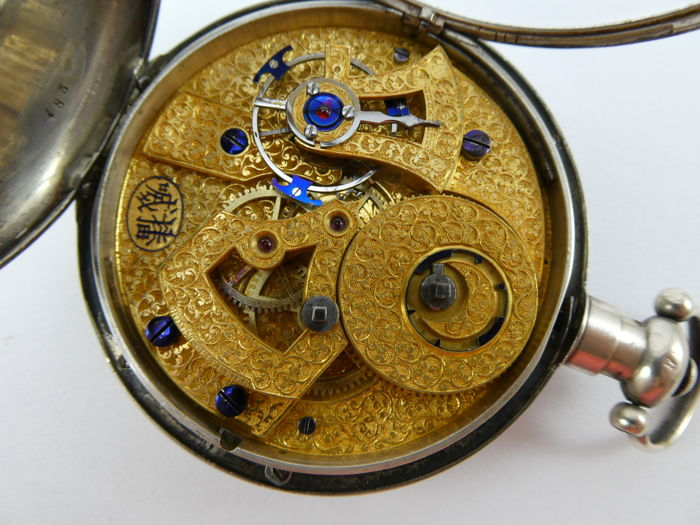 Bovet - Chinese market pocket watch NO RESERVE PRICE - Hombre - 1850 - 1900