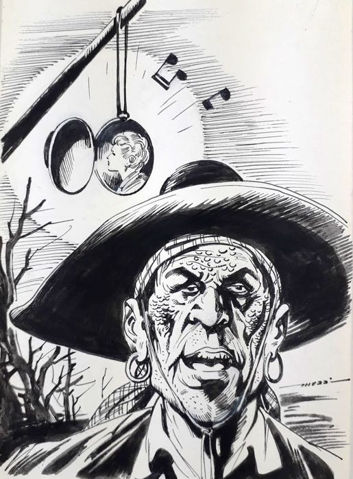 "Tex - Muzzi - original artwork ""El Muerto"" - Loose page"