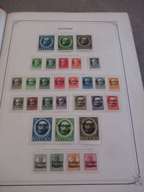 Europe 1860/1920 - Advanced stamp collection