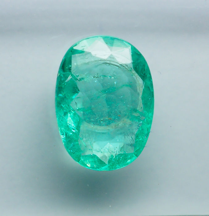Blue, Green Paraiba, Tourmaline - 1 ct