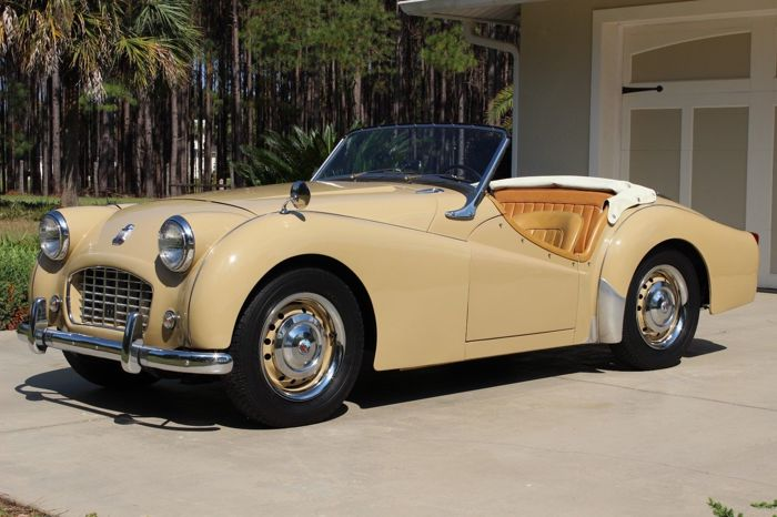 Triumph Tr3 Small Mouth No Reserve Matching 1956