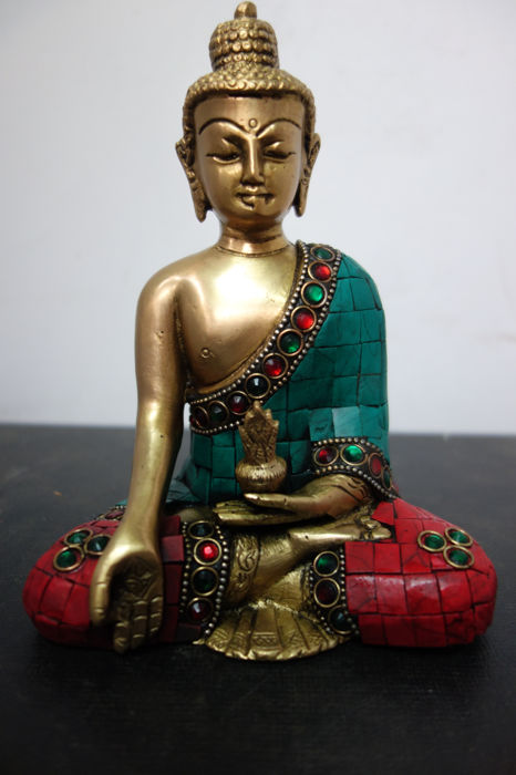 Bronze Buddha - Nepal - early 21st century