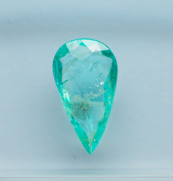 Greenish Blue Paraiba, Tourmaline - 0.72 ct