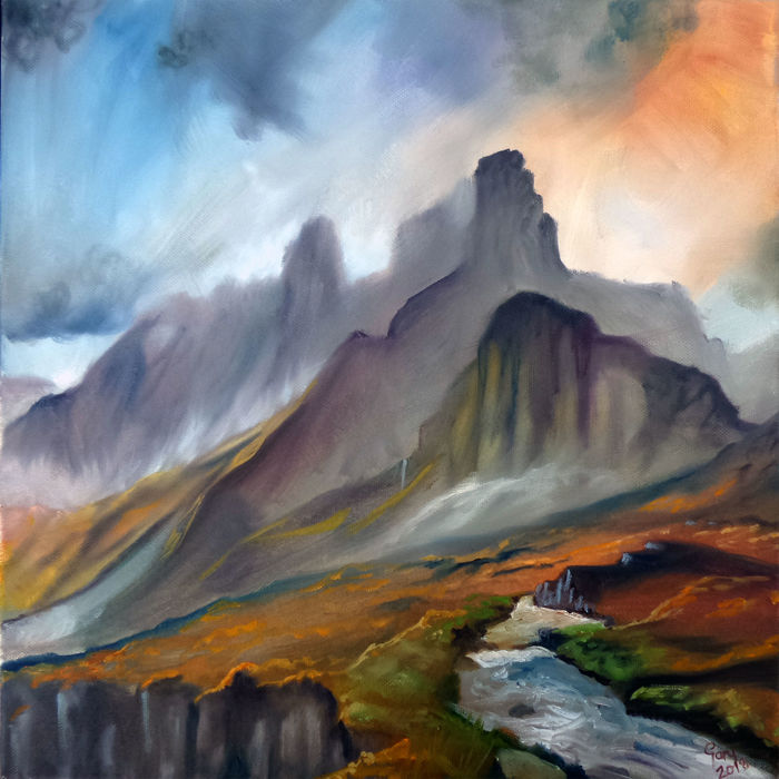 Gary Wakeham - Stormy Mountains