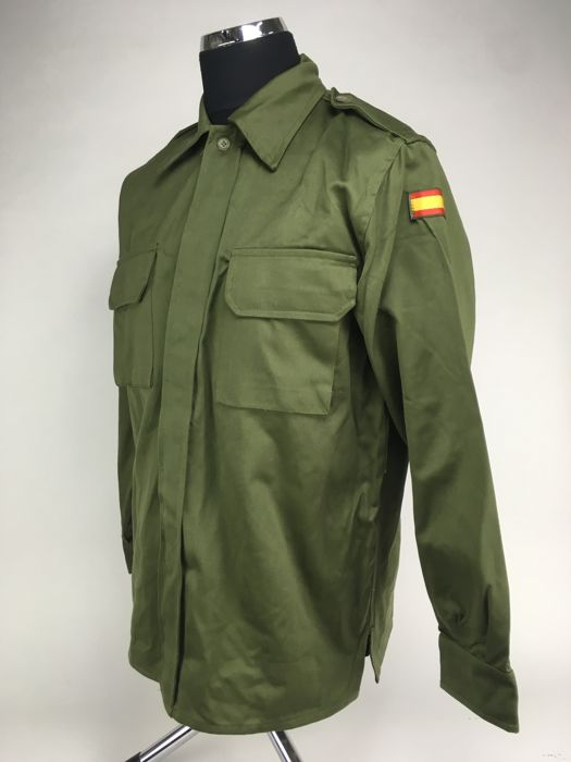 Spain - Army of Earth - 10x Camisoles with flag