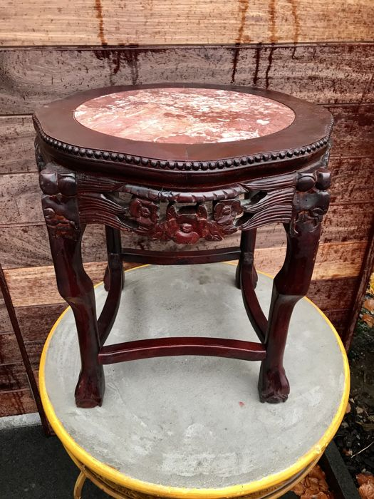 Chinese side table - China - ca 1900