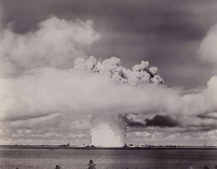 Unknown/ Join Army Navy Task Force One - Atomic test Bikini Lagoon, 1946
