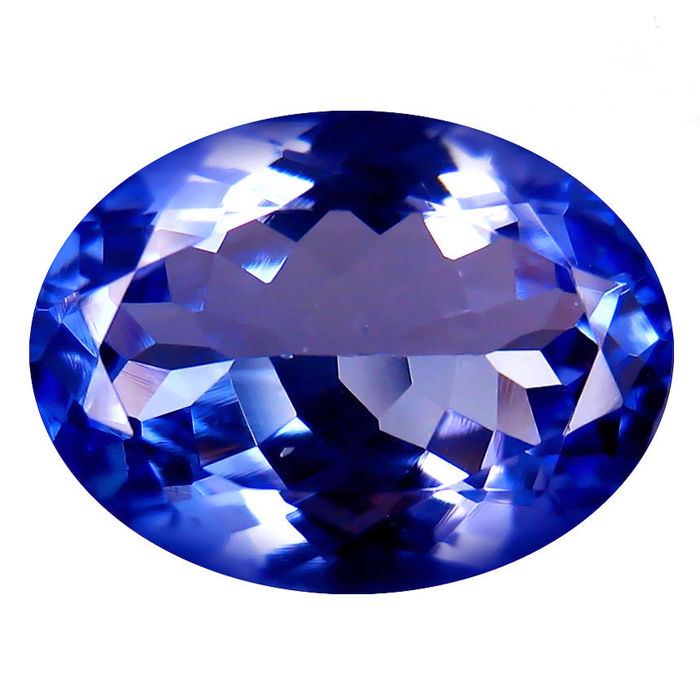 Blue Tanzanite - 3.11 ct