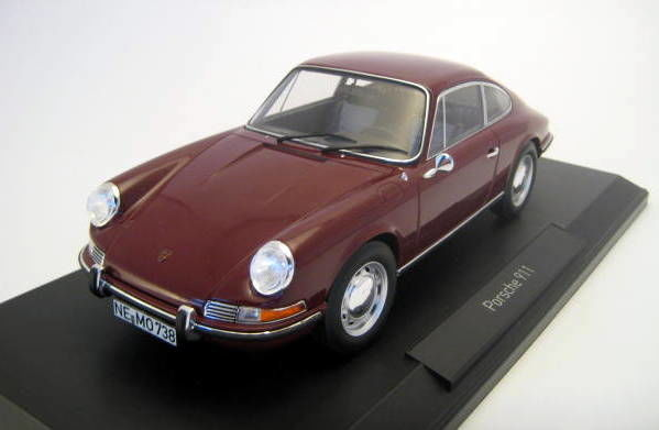 Norev - 1:18 - Porsche 911 T Red 1969 - Limited Edition - Mint Boxed - Factory Sold Out