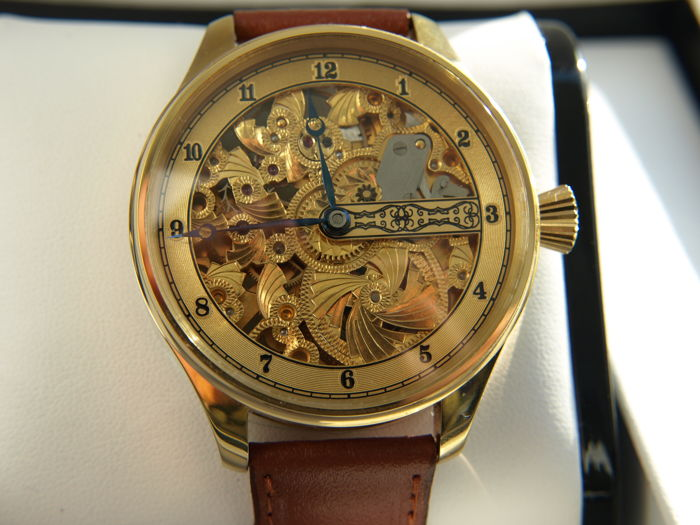 Omega - skeleton marriage watch - 8464148 - Hombre - 1901 - 1949