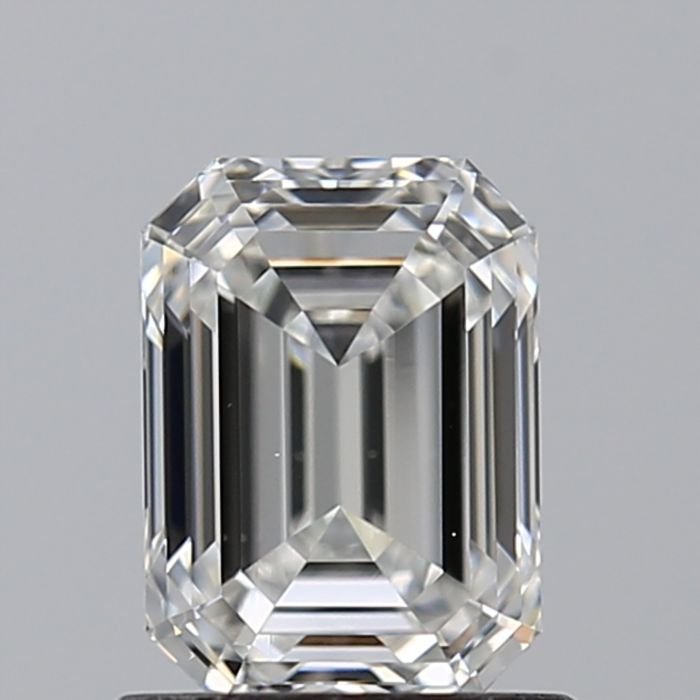 1 Diamant - 1.01 ct - Smaragd - F - VS2