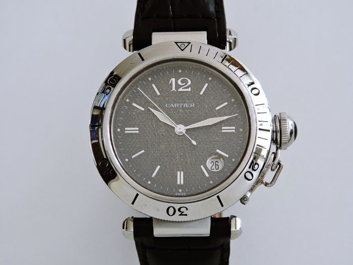 Cartier - Pasha  - Ref. 1040  - Men - 2000-2010