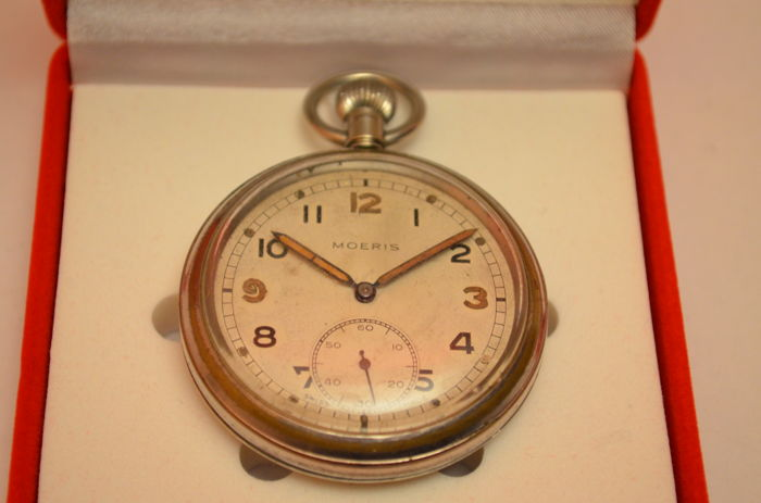 Soldier's pocket watch - NO RESERVE PRICE - military - 1901-49