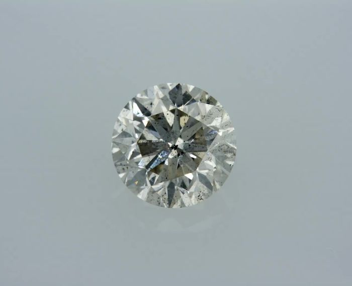 1 Diamond - 0.96 ct - Brilliant - I - ** NO RESERVE **, SI1