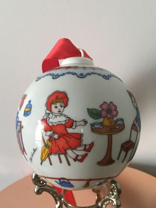 Hutschenreuther - Christmas deco - 8 - Glass, Porcelain