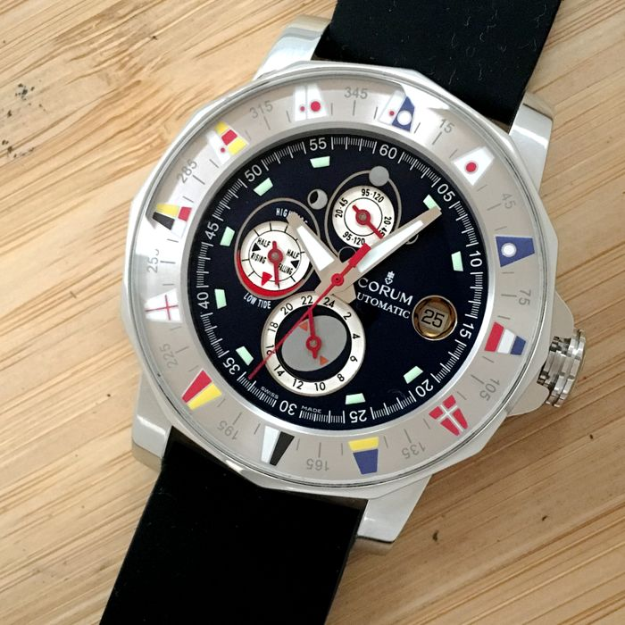 Corum - Admiral´s Cup Marees  - 977.630.20 - Mænd - 2000-2010