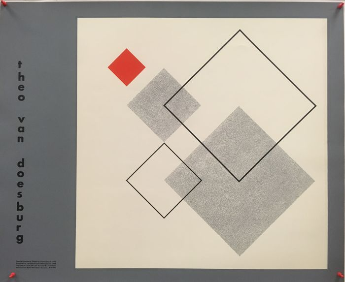 Theo van Doesburg - Arithmetic Drawing (1930) - 1988