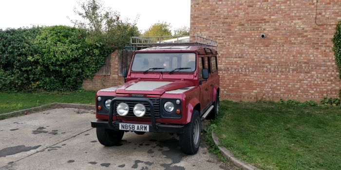 Land Rover - 110 county - 1996