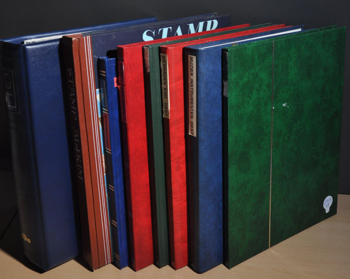 World Thematic - Batch in several stock books
