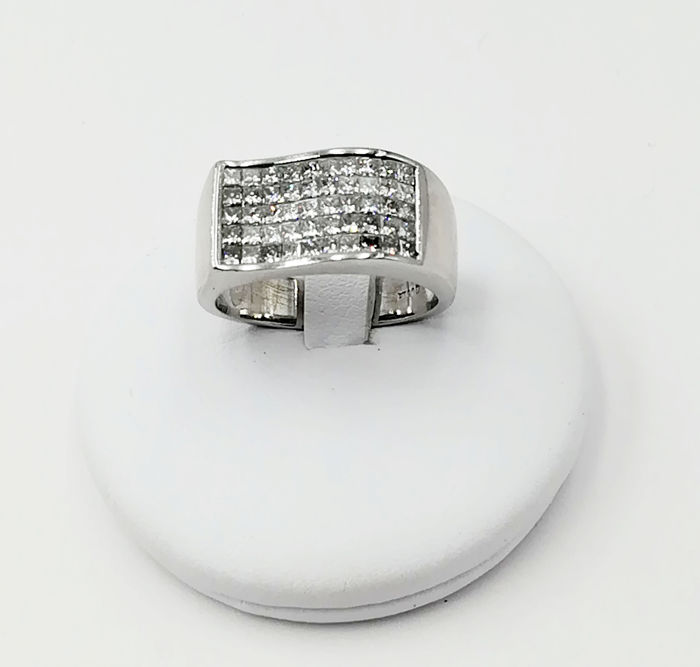 Platina - Ring - 1.00 ct Diamant