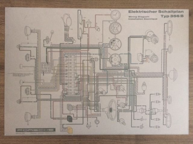Brilliant Decoratief Object Porsche Electrical Diagram 356 B Dealer Wiring Digital Resources Counpmognl