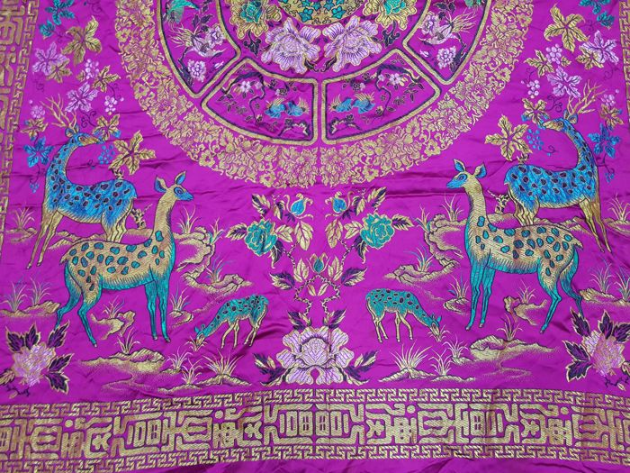 China Tablecloth - China - Tablecloth - Collection of 000 - Silk