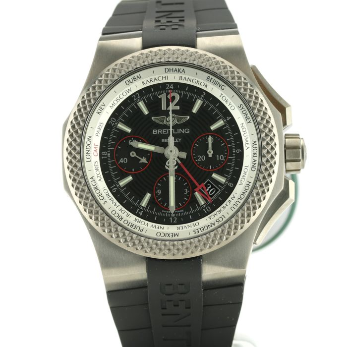 Breitling - Bentley GMT Light Body B04 S - Ref. EB043335/BD78  - Uomo - 2011-presente