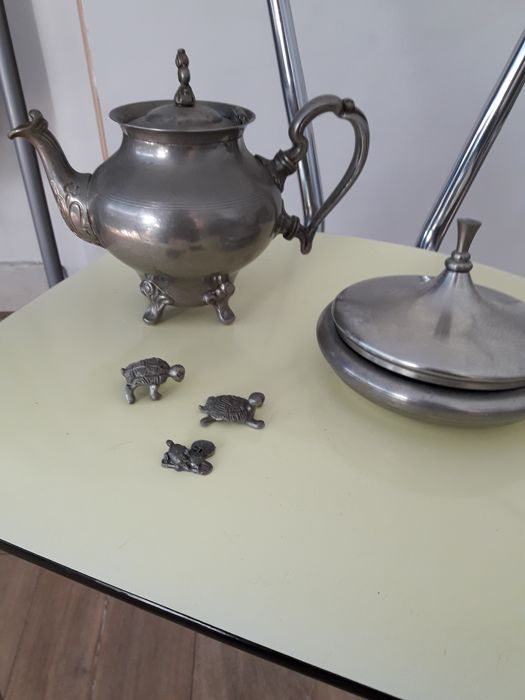 Daalderop - coffee pot and a pot made of daalderop - 3