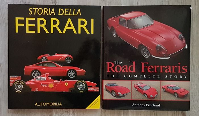 Books - The Road Ferraris / Storia della Ferrari - 1948-2013