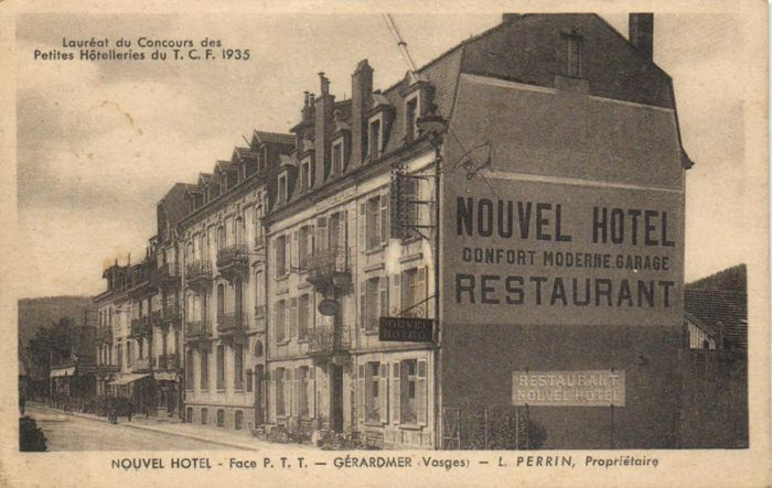 74x Hotels in France - various locations - period: 1900/1940