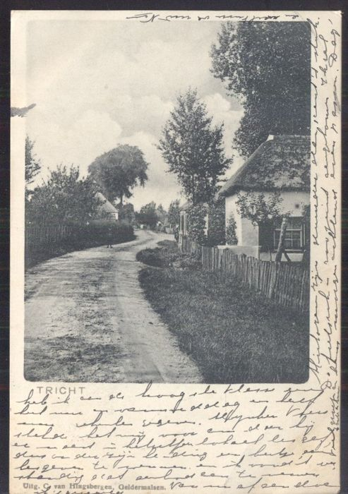 The Dutch province of Gelderland, 133 postcards; old and very old city and village views