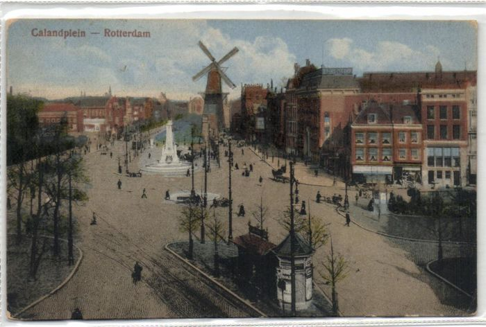 Rotterdam 85X-various streets and Port views from the period before 1940 - including very old postcards - period: 1900/1940