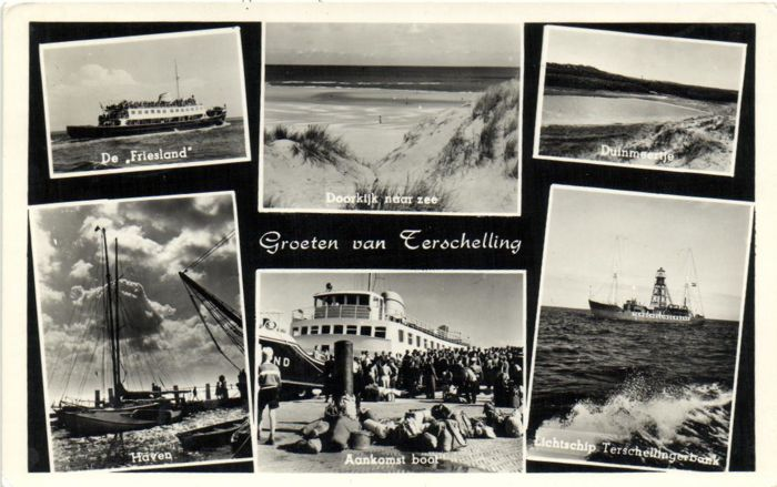 Greetings from .....  172X - various places in Netherlands - period: 1950/1960