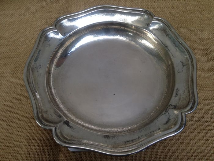 Centrepiece in silver 800 - Italy - 1950