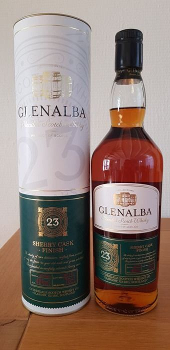 GlenAlba 1984 23 years old - 70cl