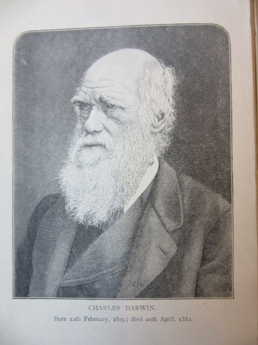 """Charles Darwin - Journal of Researches, voyage of H.M.S. """"Beagle"""" - 1889"""