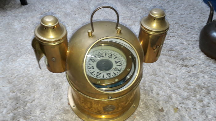 Binnacle compass - Brass - 1890-1910