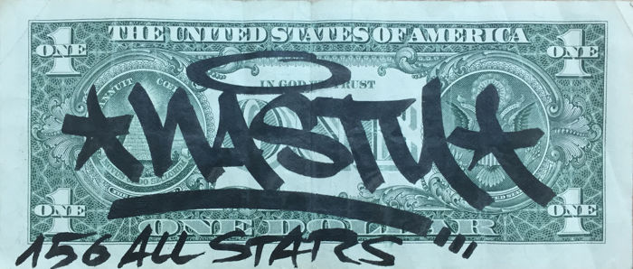 Nasty - One dollar bill