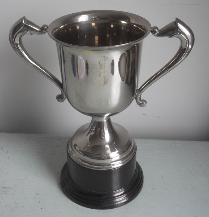 great vintage price cup - silvered - Netherlands