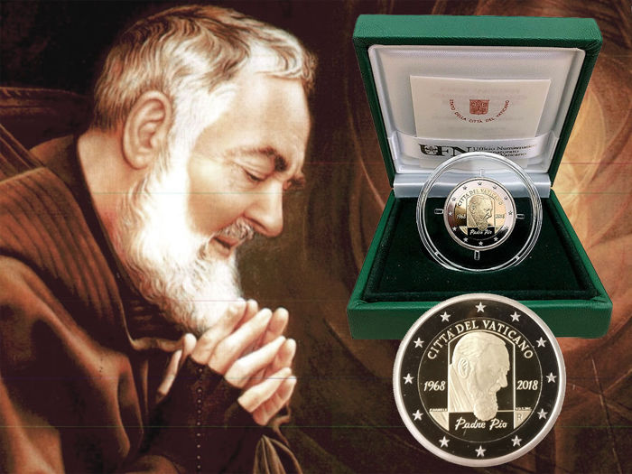 Vatican - 2 Euro 50th Anniversary of Pope Pius - Proof BE