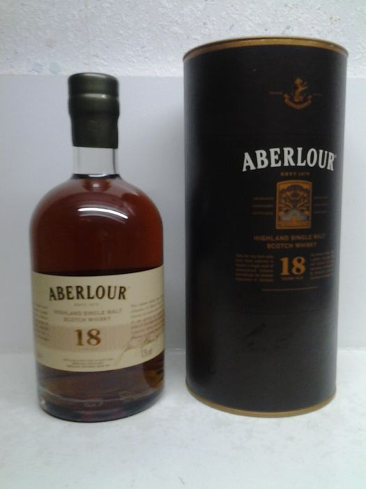 Aberlour 18 years old Edition 2019 - Official bottling - 500ml