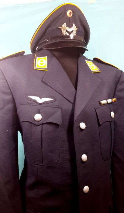 Germany - Air Force - Award, Hat, Parka, Personal Attributes, Uniform