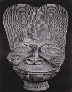 Walker Evans (1903-1975) - Mask from Cameroon, 1935